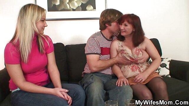 زوجين مشاهدة افلام اجنبية اباحية دفع رجل أن يكون جيد الثلاثي اللعنة